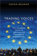 Trading Voices: The European Union in International Commercial Negotiations