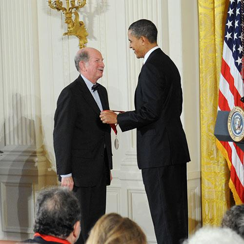Stanley Katz awarded National Humanities Medal