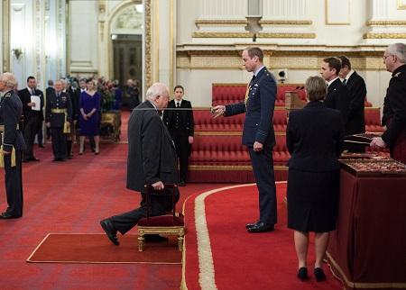 Sir Angus Deaton Knighting Ceremony