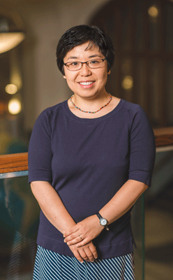 photo of Professor Zhang