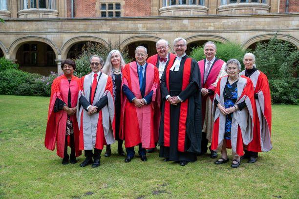 Deaton receives Honorary Degree from University of Cambridge
