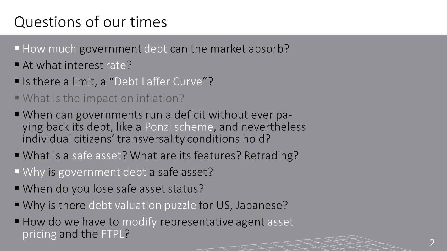Debt as Safe Asset