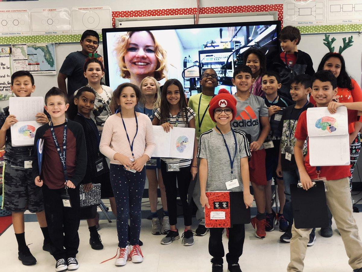 Skype A Scientist, Central Park Elementary