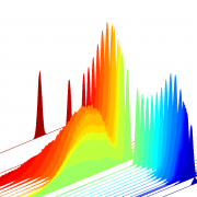 Calculated pulse shapes of probe beams in electron-positron plasma