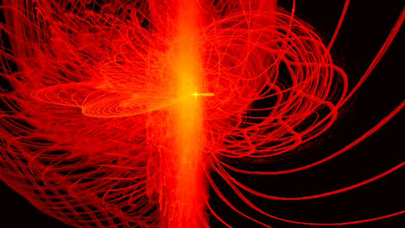Overlay of accelerated electron phase space