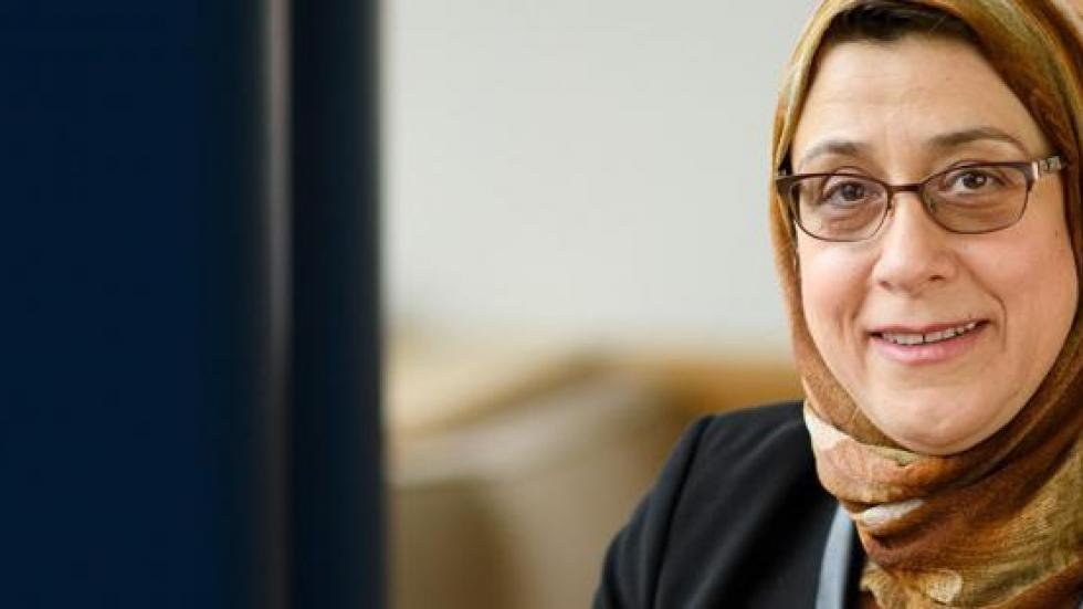Picture of Amaney Jamal, new Dean